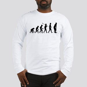On Crutches Long Sleeve T-Shirt