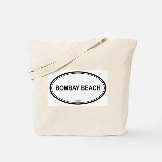 Bombay Beach oval Tote Bag