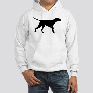 Pointer Dog On Point Hooded Sweatshirt