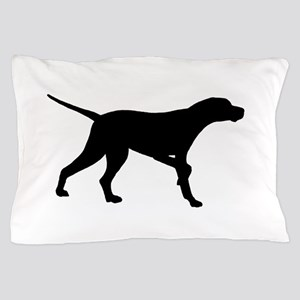 Pointer Dog On Point Pillow Case