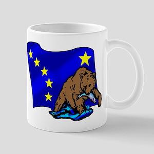 Alaskan Bear Flag Mug