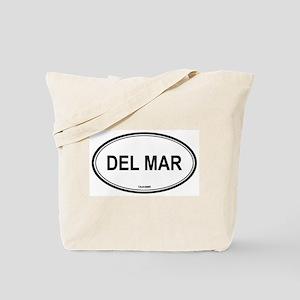 Del Mar oval Tote Bag