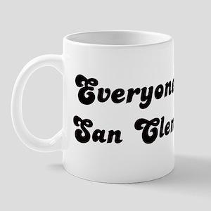 San Clemente girl Mug