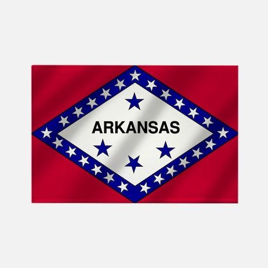Arkansas State Flag Rectangle Magnet