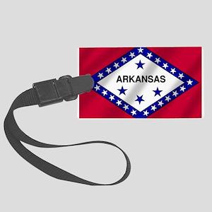 Arkansas State Flag Large Luggage Tag