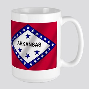 Arkansas State Flag Large Mug