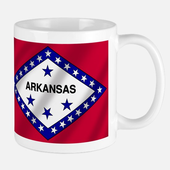 Arkansas State Flag Mug