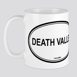 Death Valley oval Mug