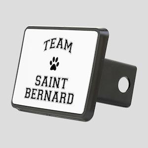 Team Saint Bernard Rectangular Hitch Cover