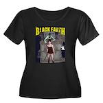Jesse - The Black Earth Women's Plus Size Scoop Ne