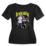 Jake Sara - The Black Earth Women's Plus Size Scoo