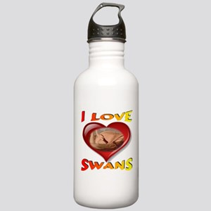 I Love Swans Stainless Water Bottle 1.0L