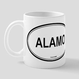 Alamo oval Mug