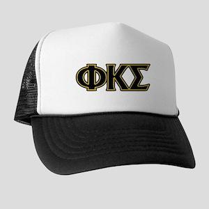Phi Kappa Sigma Letters Trucker Hat