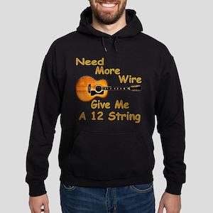 Give Me A 12 String Hoodie (dark)
