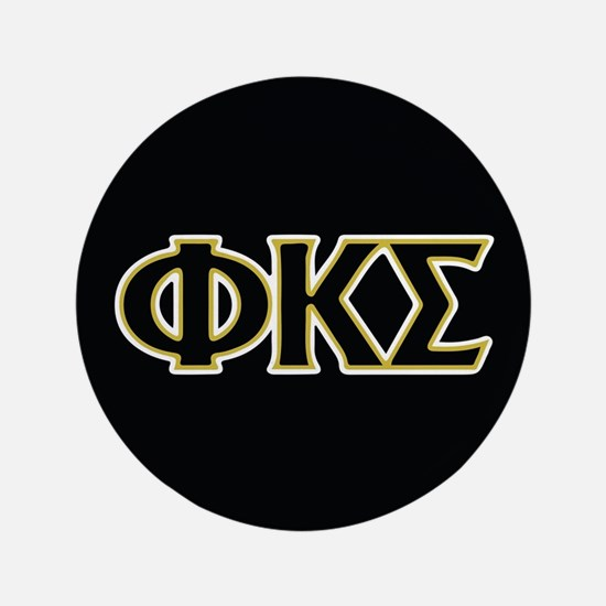 Phi Kappa Sigma Letters Button