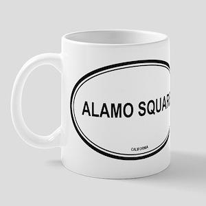 Alamo Square oval Mug