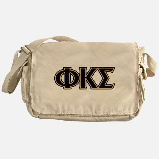 Phi Kappa Sigma Letters Messenger Bag