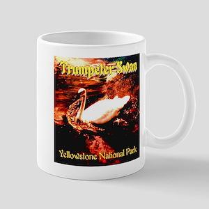 Trumpeter Swan Yellowstone National Par Mug