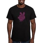 Pyatachok Men's Fitted T-Shirt (dark)