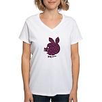 Pyatachok Women's V-Neck T-Shirt