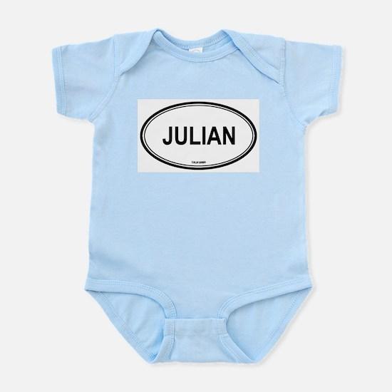 Julian oval Infant Creeper