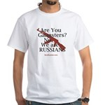 Russians/Gangsters White T-Shirt
