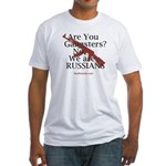 Russians/Gangsters Fitted T-Shirt