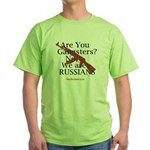 Russians/Gangsters Green T-Shirt