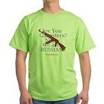 Russians/Gangsters Green T-Shirt