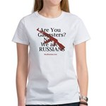 Russians/Gangsters Women's T-Shirt