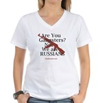 Russians/Gangsters Women's V-Neck T-Shirt