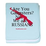 Russians/Gangsters baby blanket