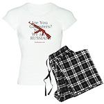 Russians/Gangsters Women's Light Pajamas