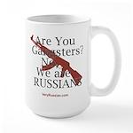 Russians/Gangsters Large Mug