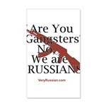 Russians/Gangsters 20x12 Wall Decal