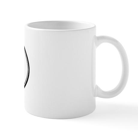Gilroy oval Mug