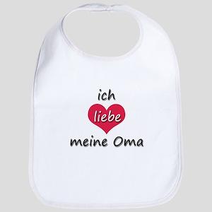 ich liebe meine Oma I love my grandma in German Bi