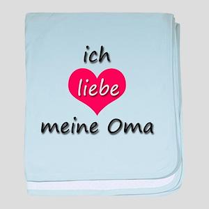 ich liebe meine Oma I love my grandma in German ba