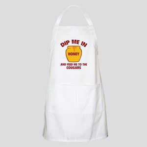 Feed Me To The Cougars Apron