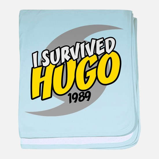 I Survived HUGO baby blanket