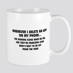 Delete An App Mug