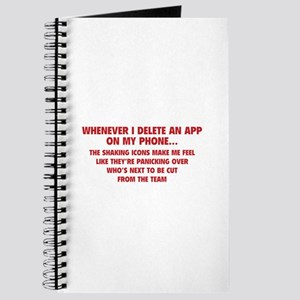 Delete An App Journal