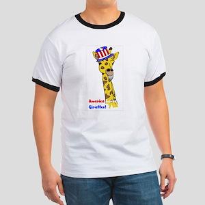 All American Giraffe Ringer T