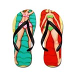 Beach Beauties - Women Beach Flip Flops