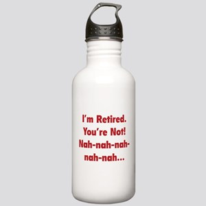 I'm Retired Stainless Water Bottle 1.0L