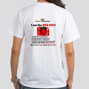 8th Maxim Logo with Web Address White T-Shirt
