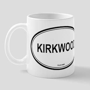 Kirkwood oval Mug