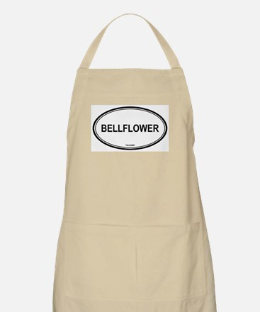Bellflower oval BBQ Apron