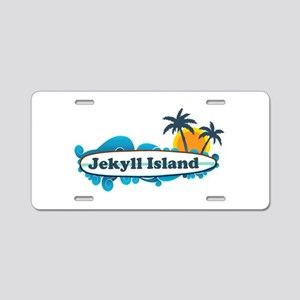 Jekyll Island GA - Surf Design. Aluminum License P